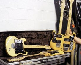The Shergold/Rutherford Custom Guitars pictured at The Farm, 30th June 2000